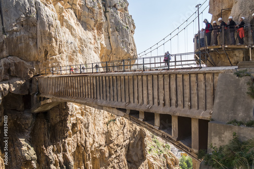 Photo  'El Caminito del Rey' (King's Little Path), World's Most Danger