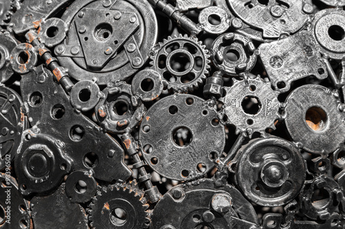 Photo  Art of gears and tools