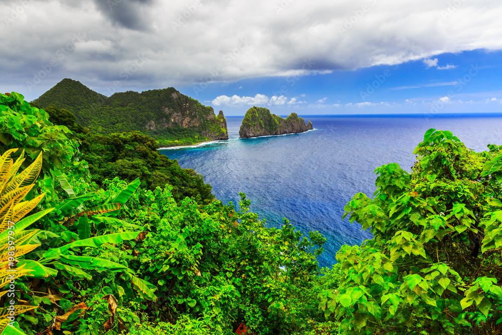Fototapety, obrazy: Pago Pago, American Samoa.