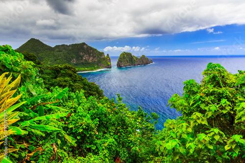 Cadres-photo bureau Amérique du Sud Pago Pago, American Samoa.