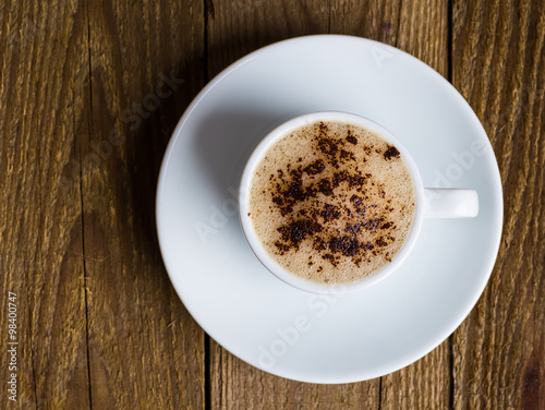 Fotografie, Obraz  coffee cup and coffee beans