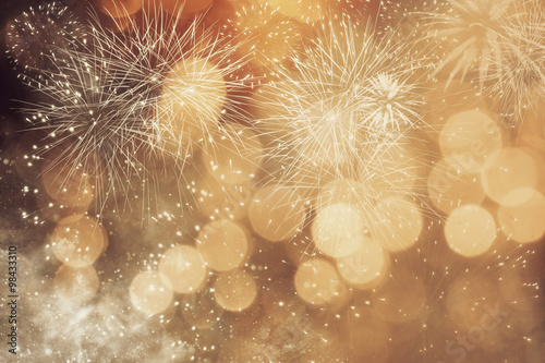 Stampa su Tela Abstract holiday background