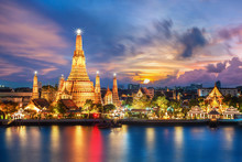Wat Arun Night View Temple In ...