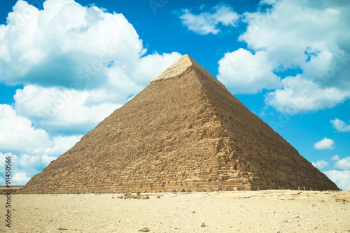 Tuinposter Egypte Great Pyramid of Giza, Egypt