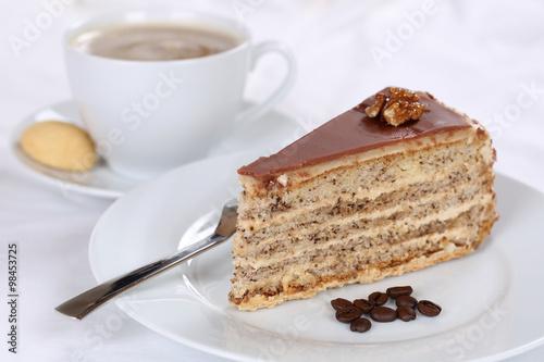 Kaffee Und Kuchen Torte Nachtisch Dessert Buy This Stock Photo