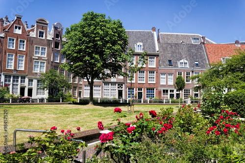 Photo  Amsterdam Begijnhof