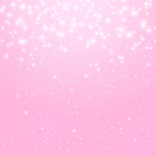 Abstract Princess Shiny Star Background Vector Illustration