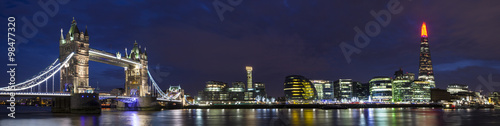 Staande foto London London Cityscape Panoramic