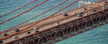 Lisbon Red Bridge, Portugal
