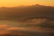 岩手県遠野市 遠野盆地の雲海