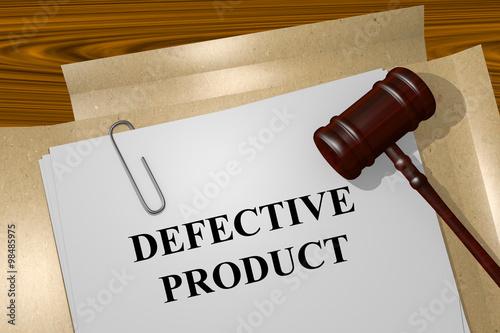 Fotografia, Obraz  Defective Product concept