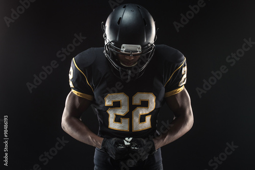 Fotografiet  American Football Player