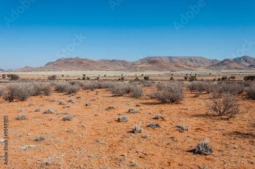 Photo  Roter Sand der Namib-Wüste; Namibia