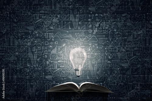 Obraz na plátne Bright light of education