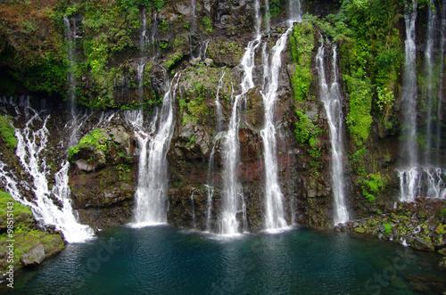 Fototapeta La Réunion - Langevin - Cascade de Grand-Galet obraz na płótnie