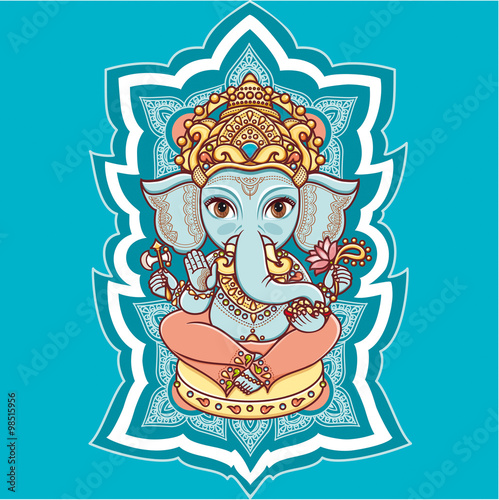 Hindu Elephant God Lord Ganesh Hinduism Happy Ganesh Chaturthi
