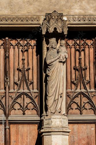 Church of Saint-Germain-l'Auxerrois, Paris, France. Poster