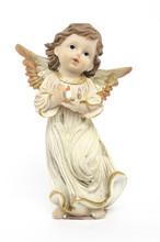 Christmas Angel Figurine Isola...