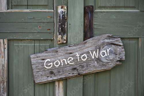 Fotografia, Obraz  Gone to War.