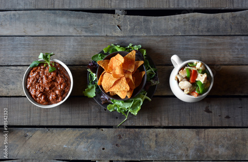 Fényképezés  typical dishes of mexico