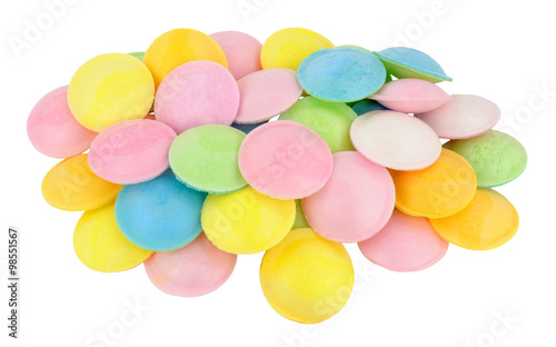 Foto op Aluminium Snoepjes Flying Saucer Novelty Sweets