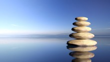 Zen Stones Stack From Large To...