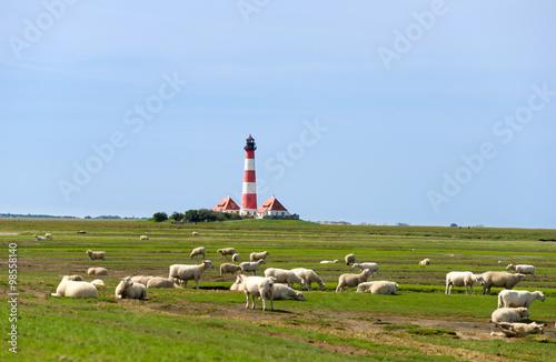 Westerhever Leuchtturm - Nordsee