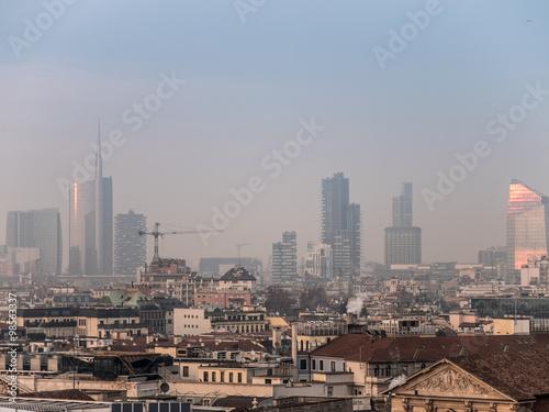Staande foto Milan milano