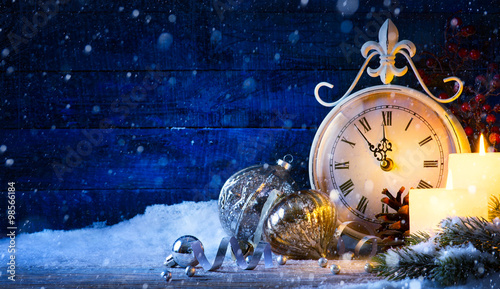 Fotografía  фке Christmas holiday eve