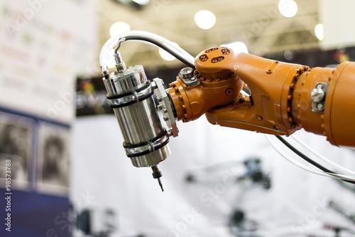 Foto  Robot hand