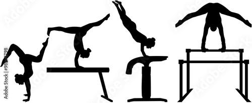 Fotografia Rhythmic gymnastics pictogram