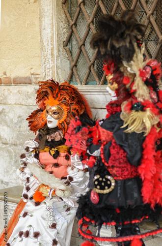 Stickers pour portes Venise Venice Carnival CARNEVALE di VENEZIA