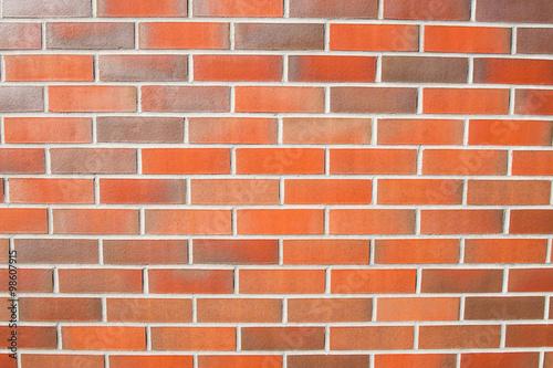 Fototapeta Ściana z cegły klinkierowej obraz