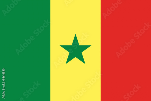 senegal-flag-illustration-of-african-country