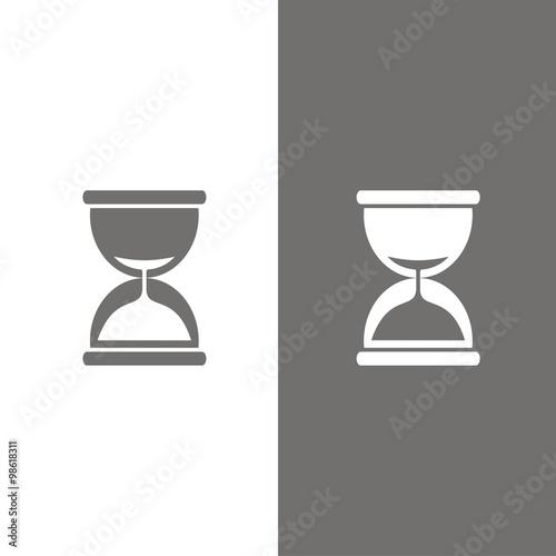 Fotografie, Obraz  Reloj de arena BN