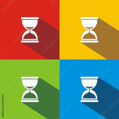 Fotografie, Obraz  Reloj de arena COLORES SOMBRA