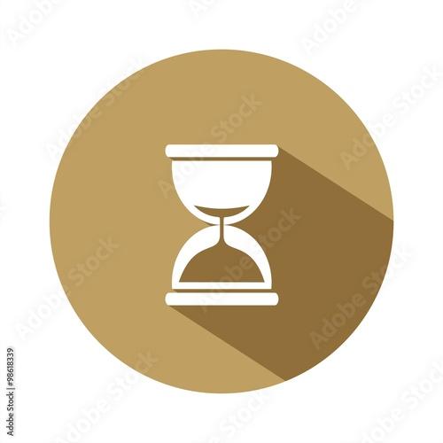 Fotografie, Obraz  Reloj de arena BOTÓN SOMBRA