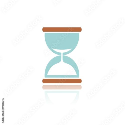 Fotografie, Obraz  Reloj de arena COLOR REFLEJO