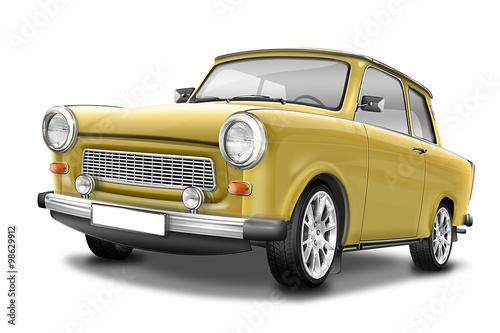 Photo  Trabant 601 - berühmter DDR Oldtimer, freigestellt