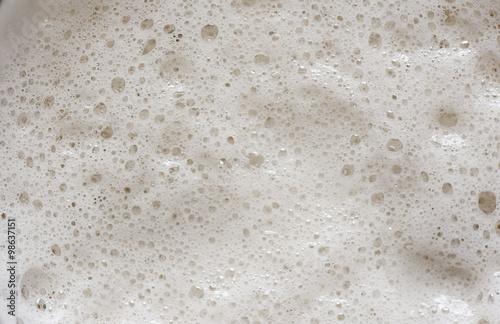 Fotografie, Obraz  close up of Beer foam