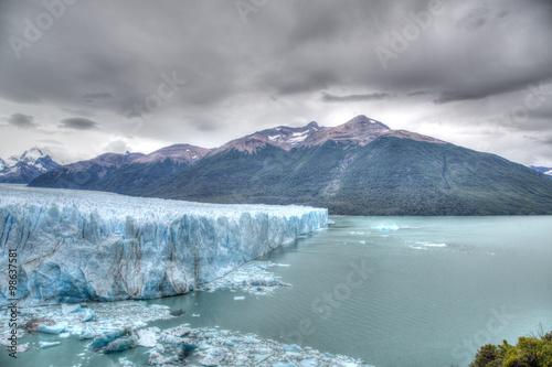 Papiers peints Arctique Der Gletscher Perito Moreno in Patagonien Argentinien