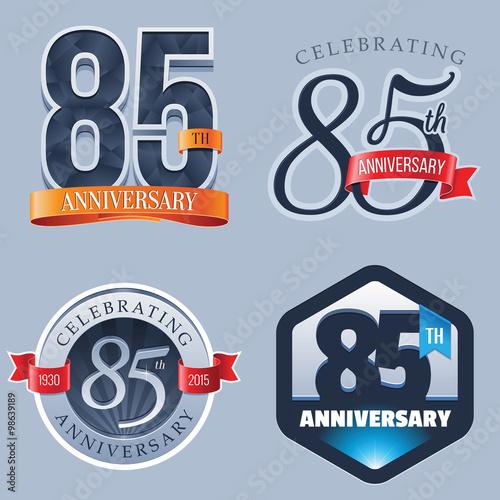 Fotografía  85 Years Anniversary Logo