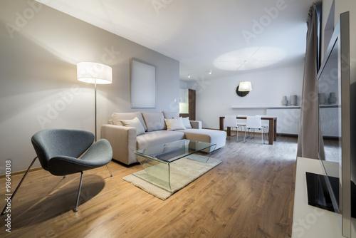 Modern interior design apartment u kaufen sie dieses foto und