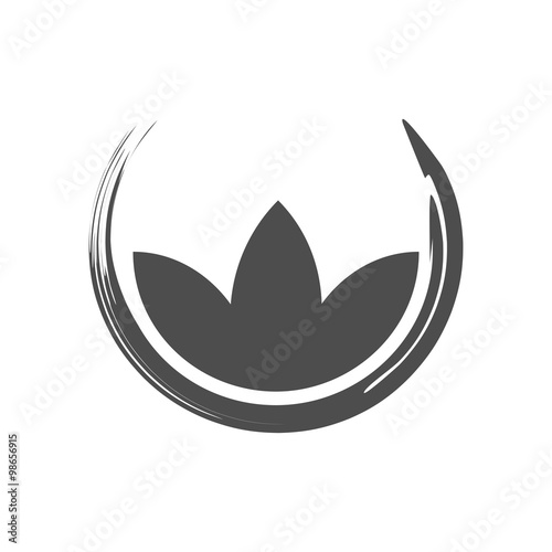 Fotomural  Simple Lotus Zen