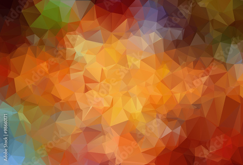 Photo Abstract  angular colorful vector background