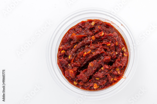 Red curry paste Wallpaper Mural