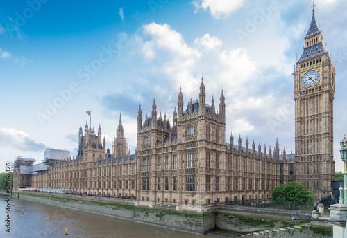 Fotografia London Houses of Parliament