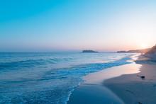 七里ヶ浜のビーチ