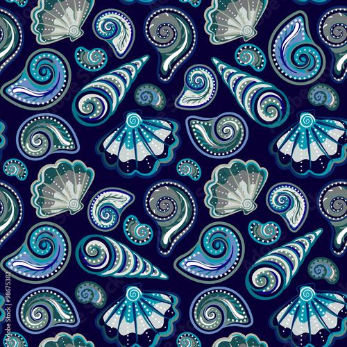 denny-bezszwowy-wzor-oryginalna-reka-rysujaca-ilustracja-w-rocznika-stylu-wzor-muszli-plazy-bezszwowy-wzor-z-seashells-doodle