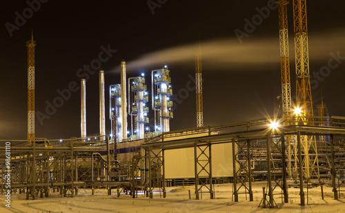 In de dag Industrial geb. Газовый промысел.